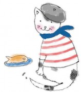 436-FP-FRENCH-KITTY
