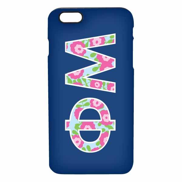 Floral Letters Phone Case : Donovan Designs