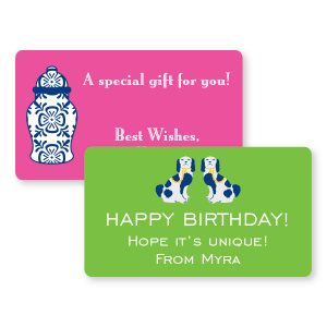 Personalized Gift Stickers