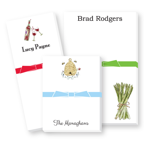 Personalized Icon Notepads
