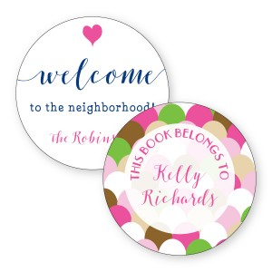 Personalized Round Stickers