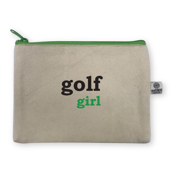 Golf embroidered bittie bag donovan designs