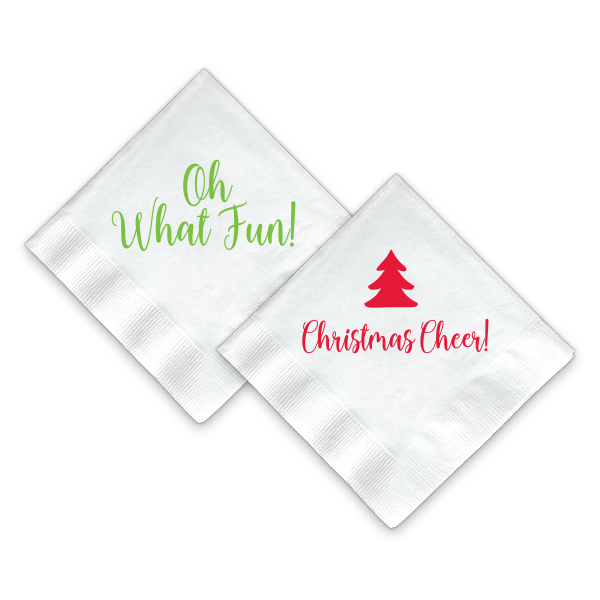 Christmas Napkins.Christmas Napkins